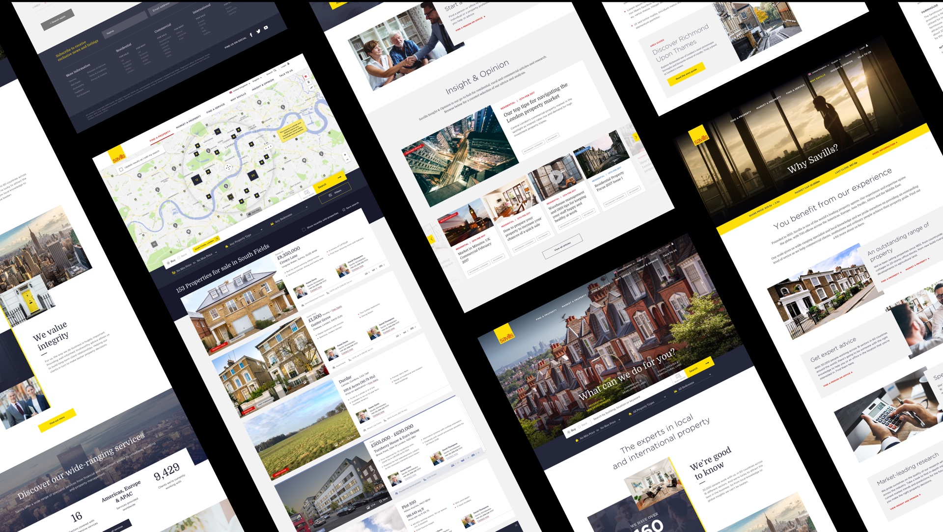 Savills website